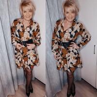 * * :  🛍 Shop now  https://merribel.eu/  #instablogger #polishwomen #polisblogger #kobietapoczterciestce #zjawiskowe #zjawiskowe_pl #blondhair #pantyhose #blonde #stylish #stylizacja #merribeleu #liviacorsetti #coffashion #veera #woman #instamodelka #influencer #dojrzalakobieta #glamour #dress #sukienka #polskakobieta