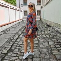********* *********  🛍 Shop now  https://merribel.eu/  https://merribel.eu/  @sandrawro   #dress #instafashion #fashionstyle #woman #girl #polishgirl #polskadziewczyna #sukienka #merribeleu #instagirl #modeling #model #picoftheday #like #sunglasses #spring #wroclove #summervibes #blondynka